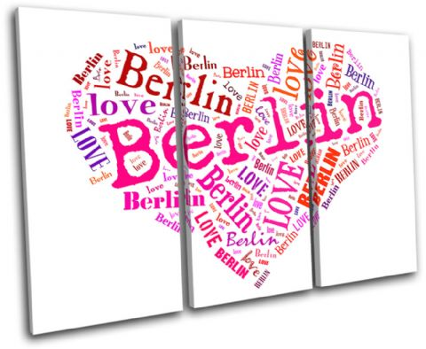 Berlin Heart I Love Typography - 13-0254(00B)-TR32-LO
